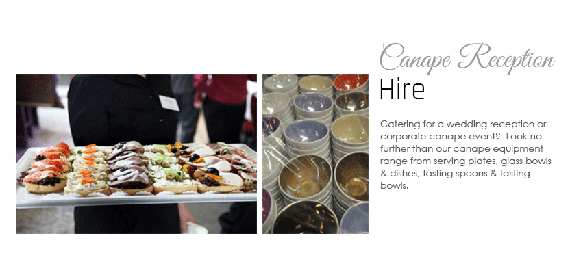 Canape Reception Hire