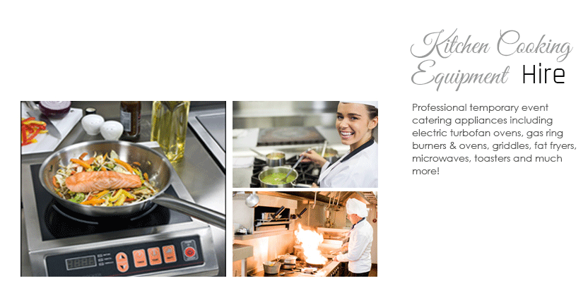 Kitchen Cooking Equipment Hire