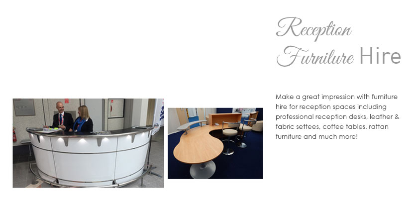 Reception Furniture Hire