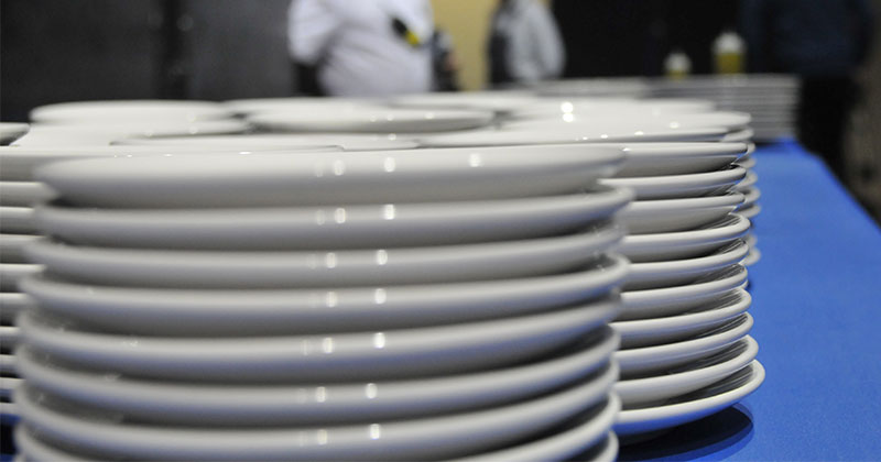 Crockery Hire For Large Events from Event Hire UK