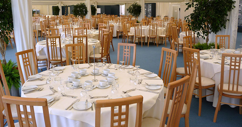 High Backed Wedding Chair Hire from Event Hire UK