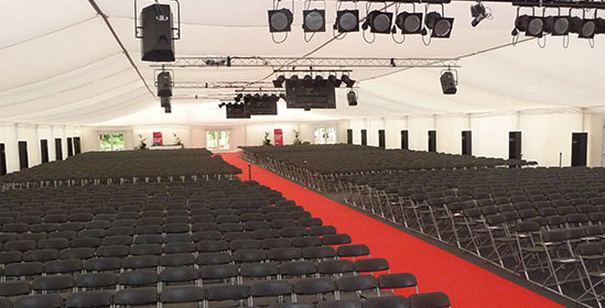 Hire Chairs For Graduation Ceremonies from Event Hire UK