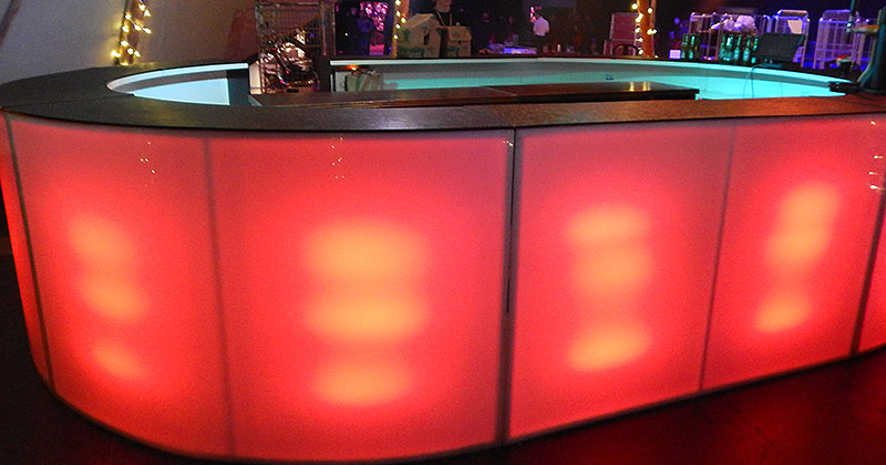 Hire LED Bars at Event Hire UK
