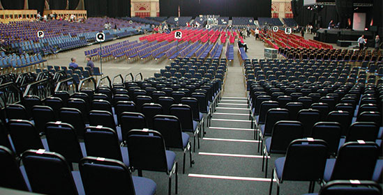 Large Scale Conference Chair Hire from Event Hire UK