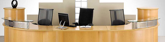 Reception Desks Hire from Event Hire UK