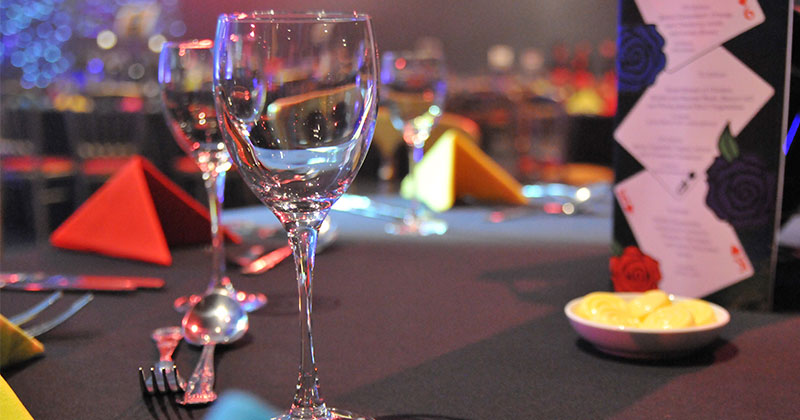 Wine Glass Hire from Event Hire UK