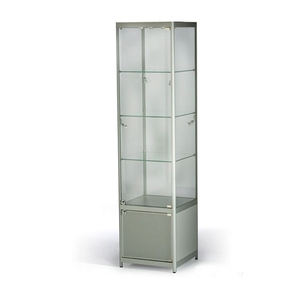 Tallboy Showcase with Cabinet