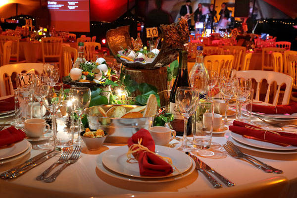Event Hire supplies London charity ball