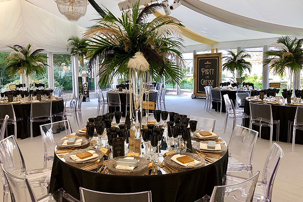 Event Hire on location at Great Gatsby event