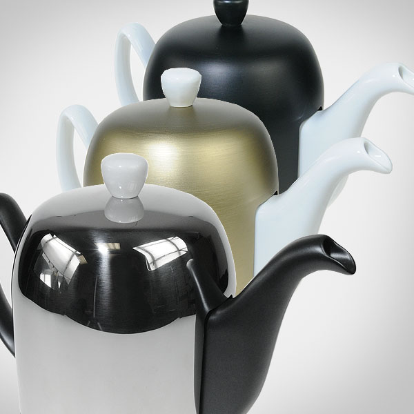 *NEW* Tea & coffee pots with interchangeable sleeves