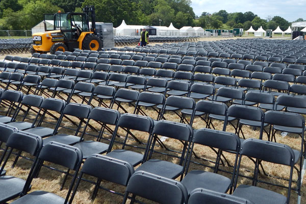 The A-Z of Event Hire: C is for chair hire