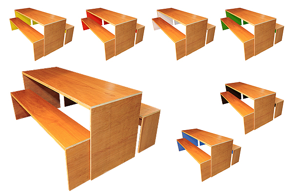 *NEW* Contemporary dining table & bench sets