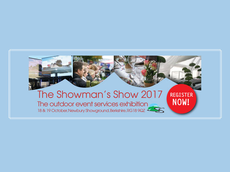 Event Hire UK at The Showmans Show 2017