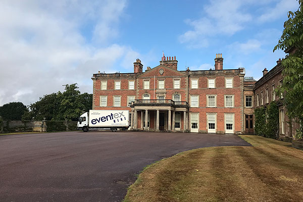 Event Hire at Weston Park country house
