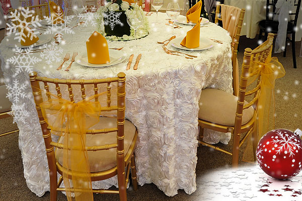 Hire Chiavari chairs for Christmas parties, events & special occasions