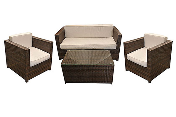 *NEW* 4 seater Chelsea outdoor rattan set