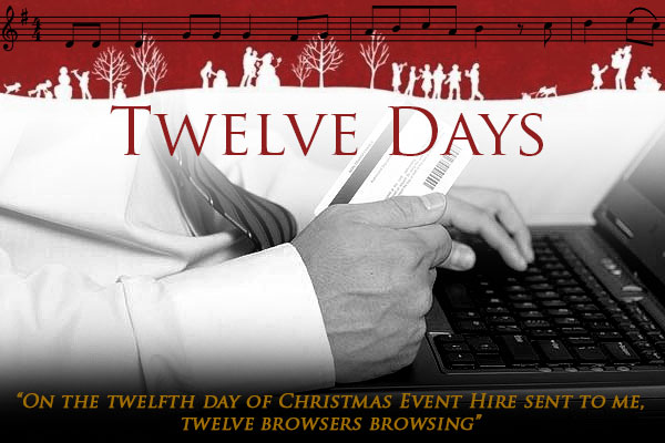 On the twelfth day of Christmas...