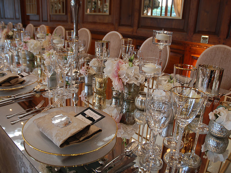 Stunning table settings with Event Hire UK