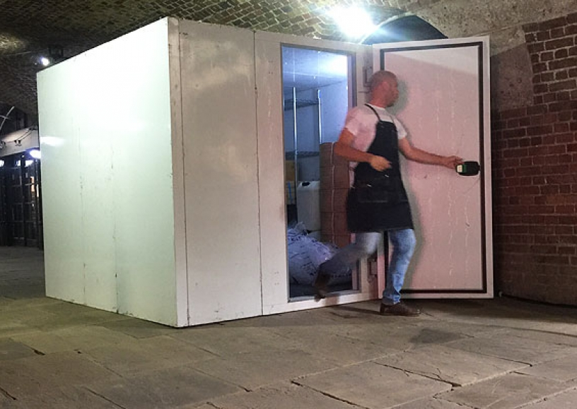 Temporary event cold room hire
