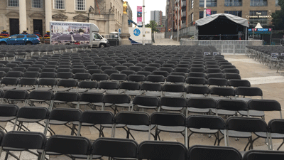 Chair hire Leeds supply & set-up