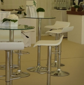 Ammon Poseur Table Hire