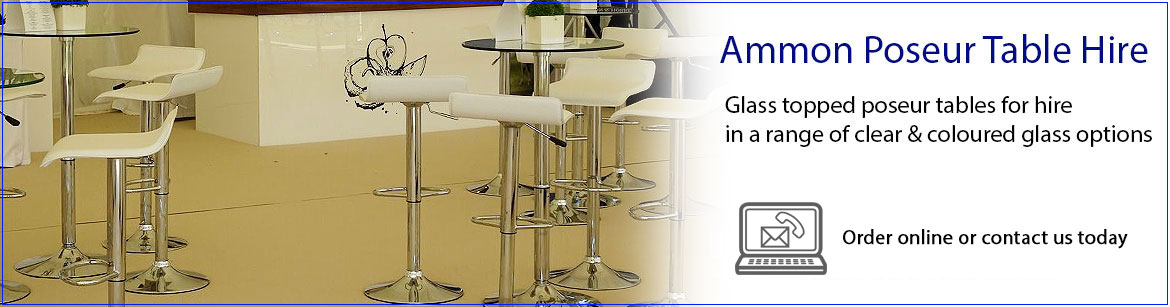 Hire Ammon Poseur Tables