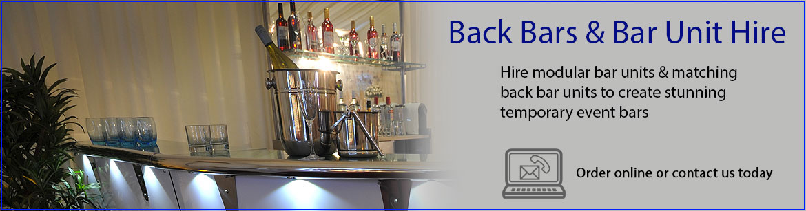 Hire Back Bars & Bar Units