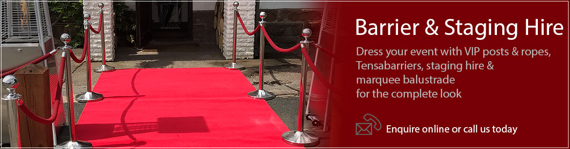 Hire Barriers & Staging