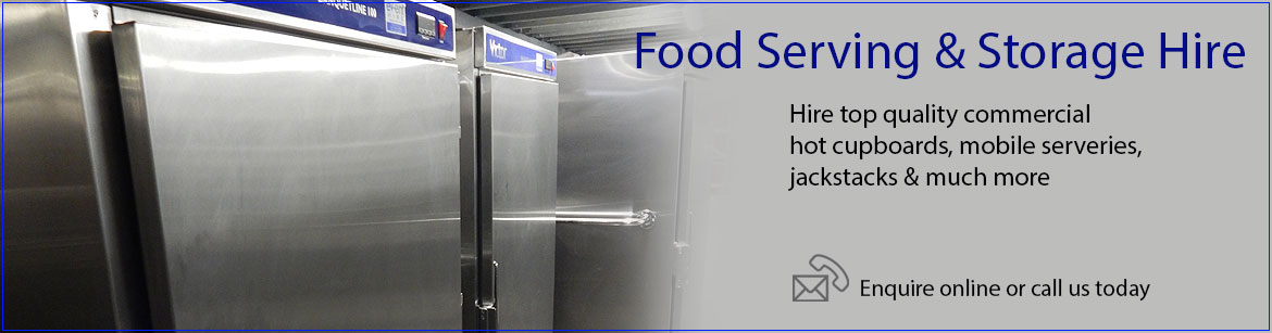 Hire Food Serving & Storage Hire