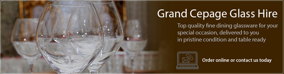 Hire Grand Cepages Glassware