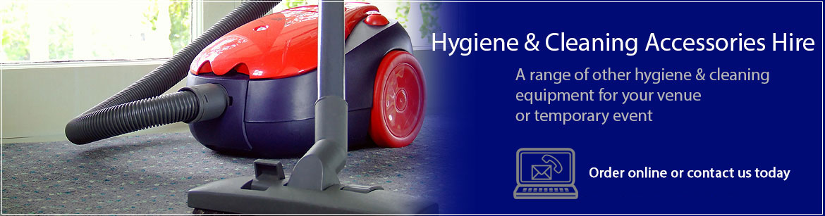 Hire Hygiene & Cleaning Accessories