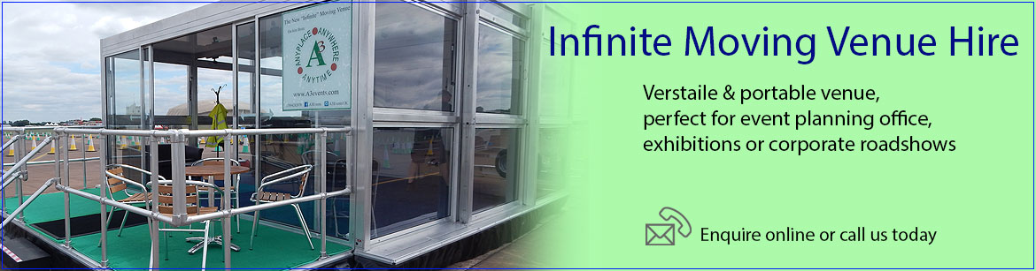 Hire Infinite Moving Venues