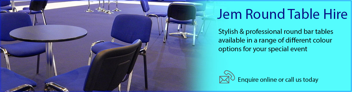 Hire Jem Round Tables