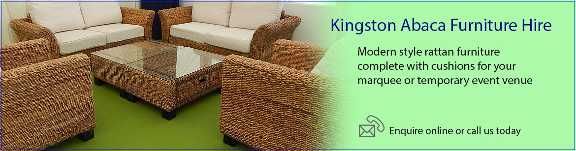 Hire Kingston Abaca Rattan Furniture