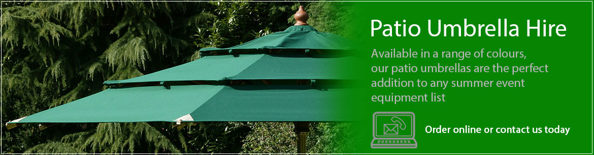 Hire Patio Umbrellas