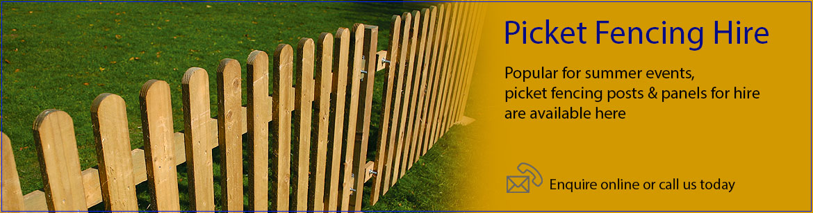Hire Picket Fencing