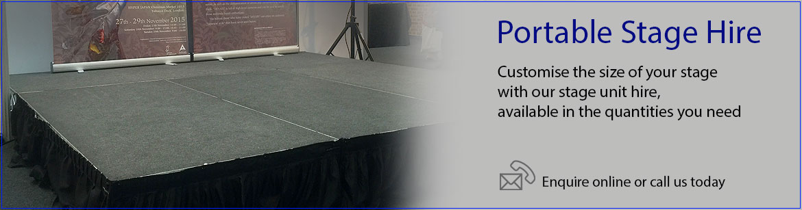Hire Portable Stages
