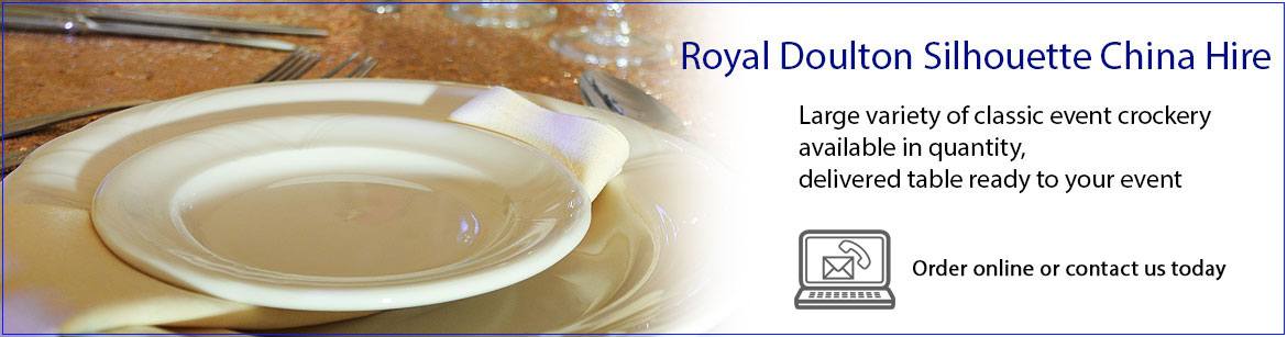 Hire Royal Doulton Crockery