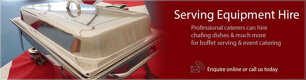 Hire Serving Equipment