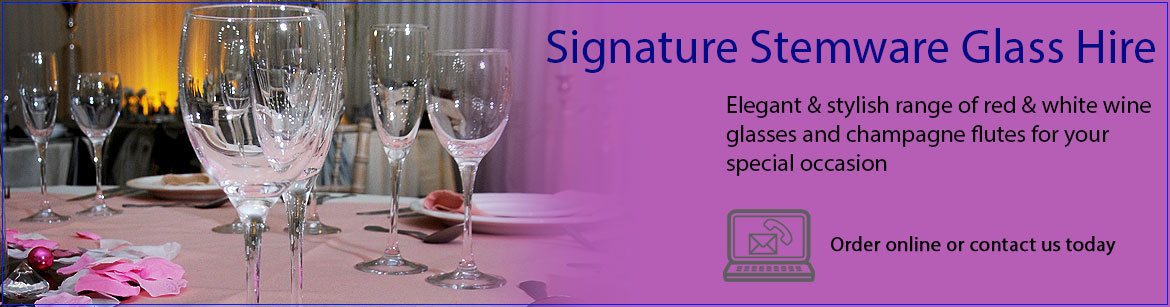 Hire Signature Range Glassware