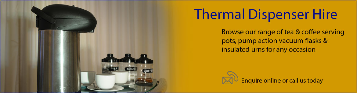 Hire Thermal Dispensers
