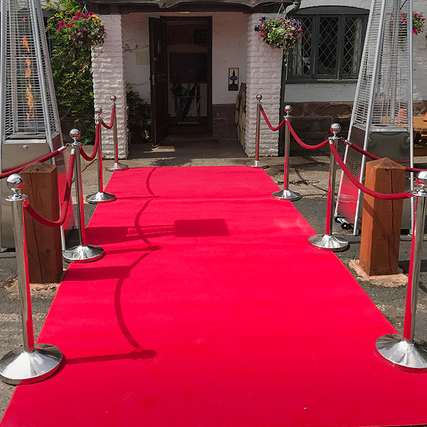 Barrier & Staging Hire London