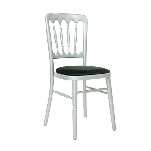 Silver Napoleon Chair Hire