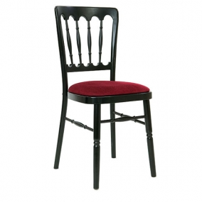 Black Napoleon Chair Hire