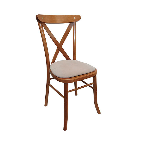 Light Oak Cross Back Chair Hire