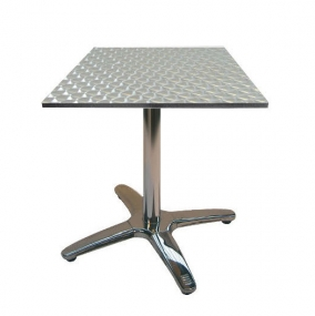 Jem Aluminium Square Table