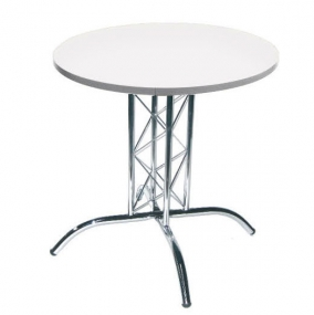 White Lattice Table