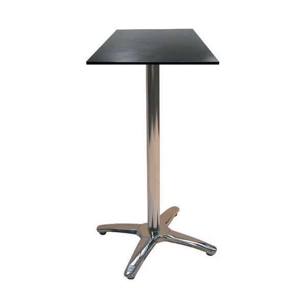 Jem Square Black Poseur Table