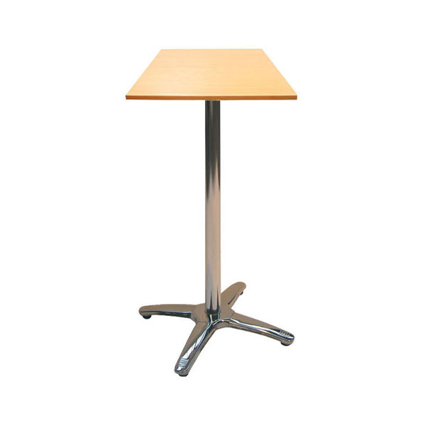 Jem Square Beech Poseur Table