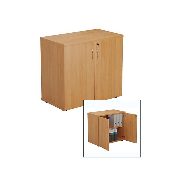 Beech Lockable Cupboard